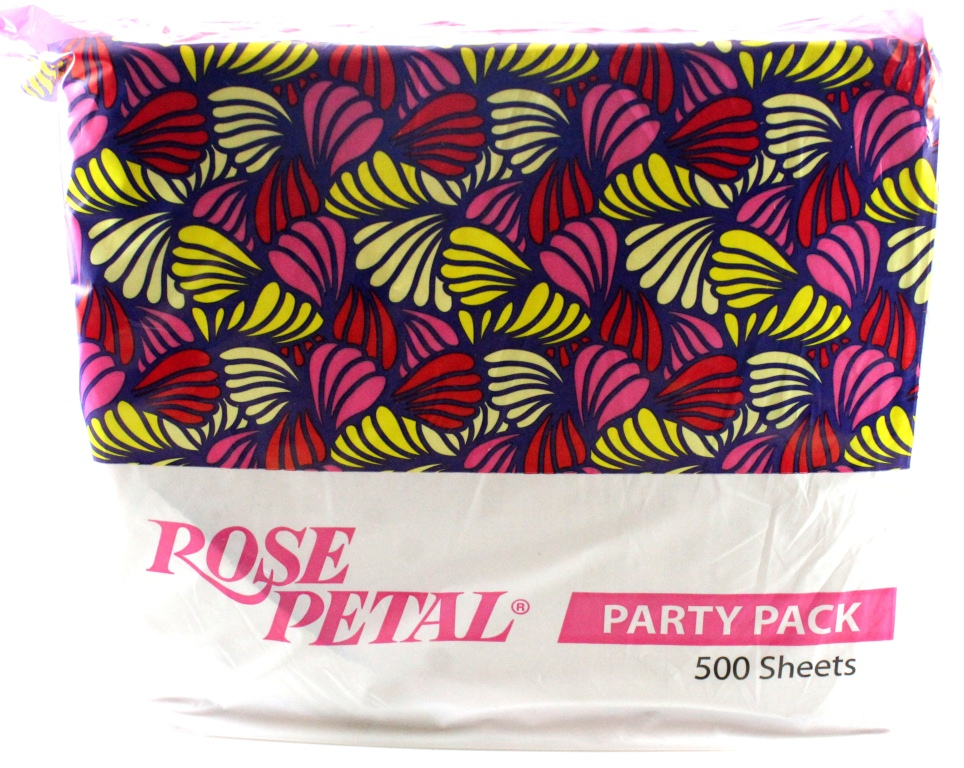 Rose Petal Party Pack Pink Tissue 500 sheets