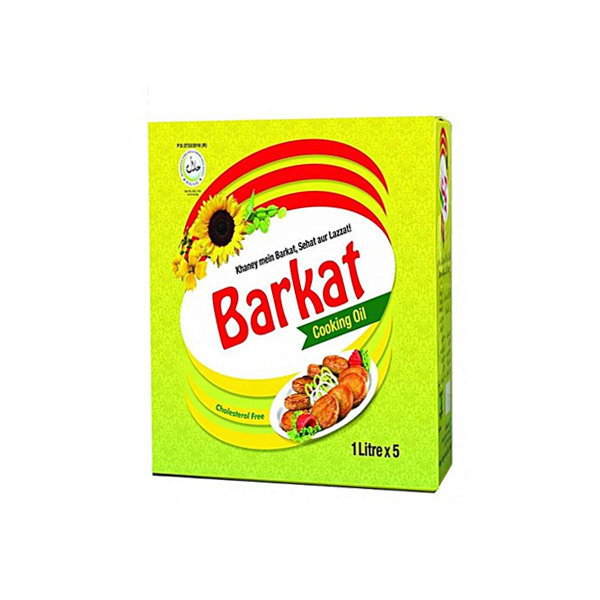 Barkat Cooking Oil Pouch 1ltr