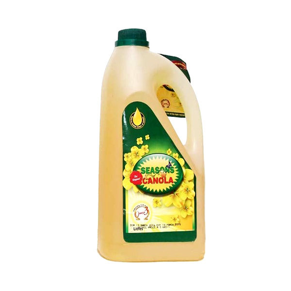 Seasons Canola Cooking Oil Bottle 4.5ltr