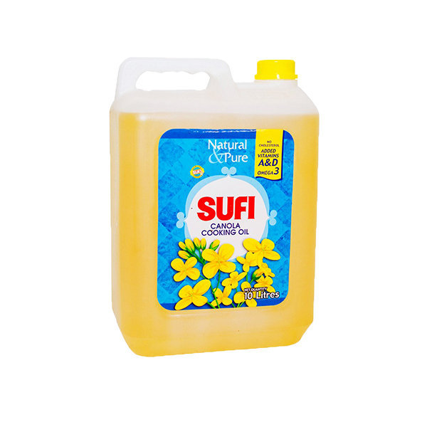 Sufi Canola Cooking Oil Can 10ltr