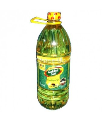 Golden Sun Cooking Oil Bottle 3ltr