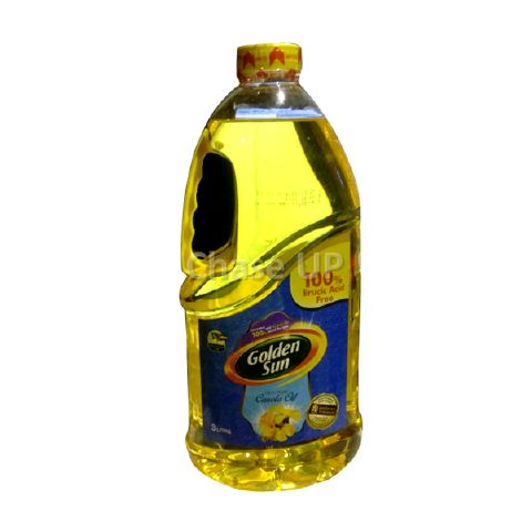 Golden Sun Canola Cooking Oil Bottle 3ltr