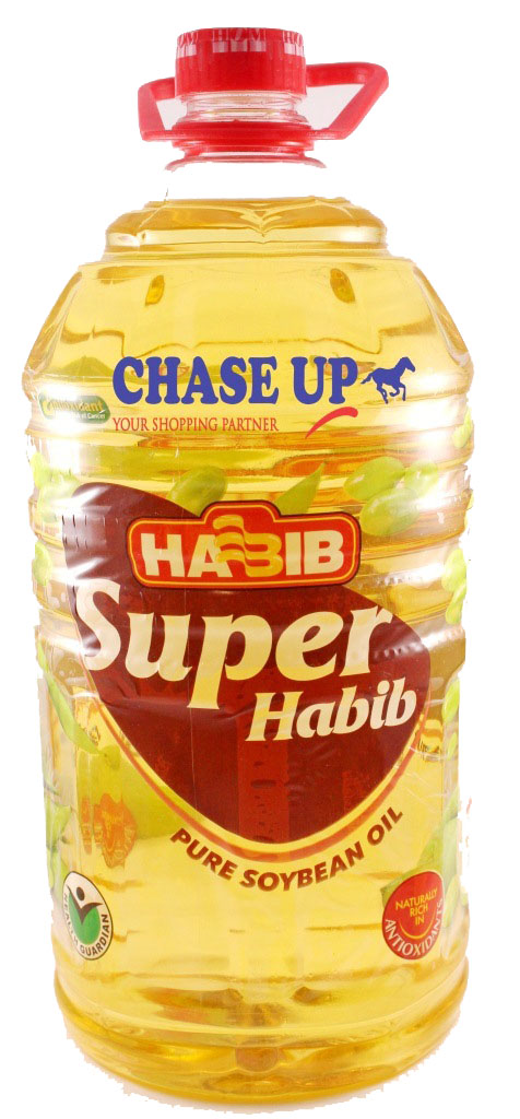 Habib Super Cooking Oil Bottle 5ltr