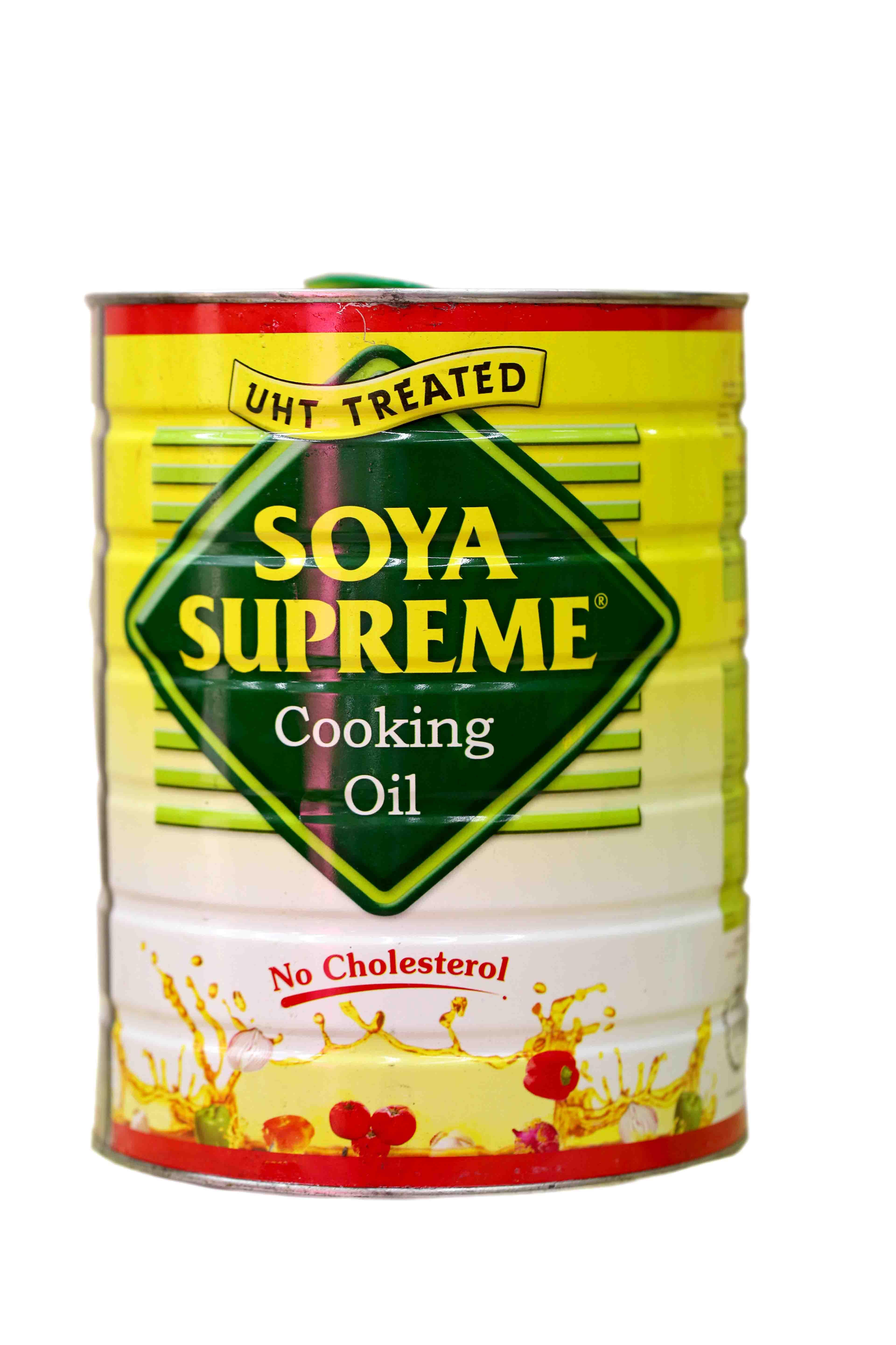 Soya Supreme Cooking Oil Tin 5ltr