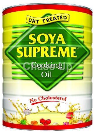 Soya Supreme Cooking Oil Tin 10ltr