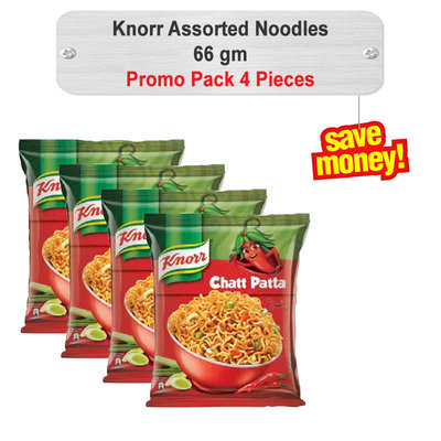 Knorr Assorted Noodles 66gm 4pcs Pack