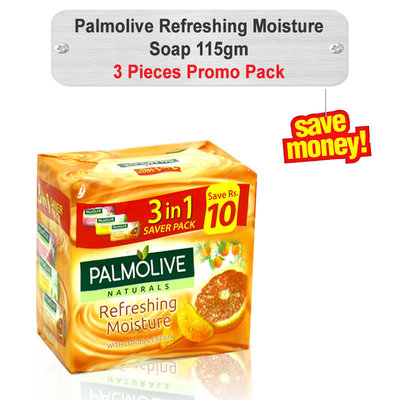Palmolive Soap Promo Pack 115gm 3pcs