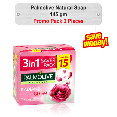 Palmolive Soap Promo Pack 145gm 3pcs