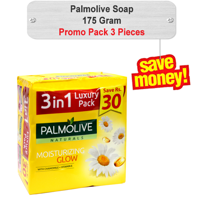 Palmolive Soap Promo Pack 175gm 3pcs