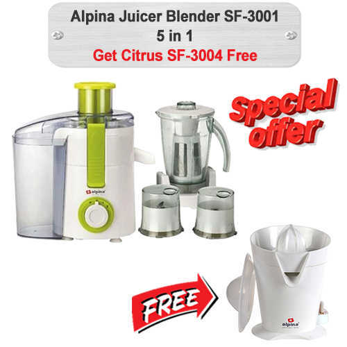 Alpina Juicer W-Free Citrus SF-3001-3004 Reliance