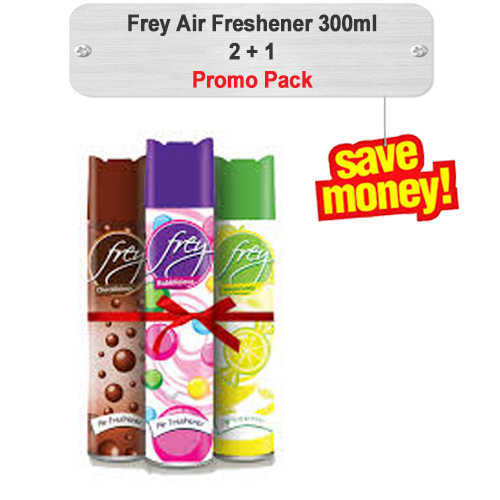 Frey Air Freshener Promo 300ml 2+1