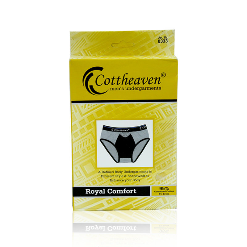 Cottheaven Lycra Gents Underwear S-XL 2pcs 0333 Dhaka
