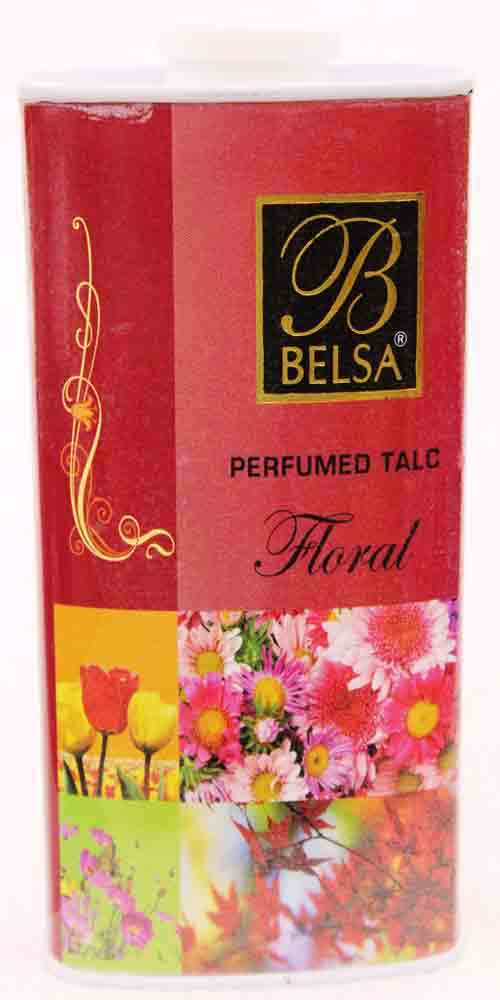 Belsa Floral Perfumed Talcum Powder Small
