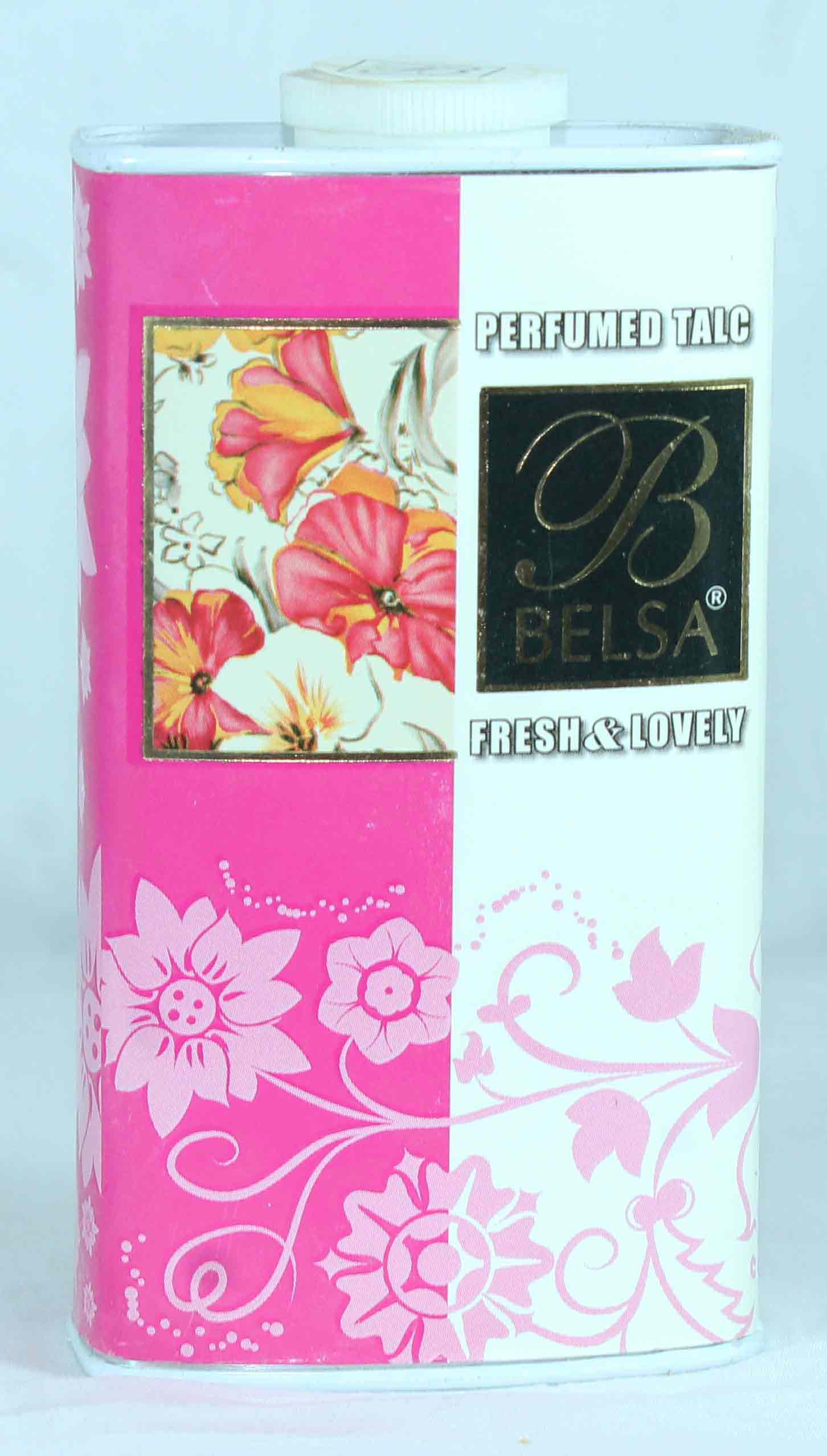 Belsa Fresh & Lovely Perfumed Talcum Powder Small