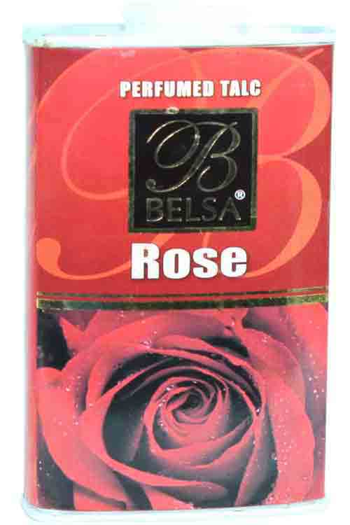 Belsa Rose Perfumed Talcum Powder Small