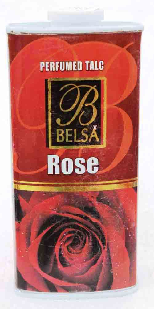 Belsa Rose Perfumed Talcum Powder Large