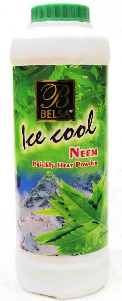 Belsa Neem Ice Cool Prickly Heat Powder Medium