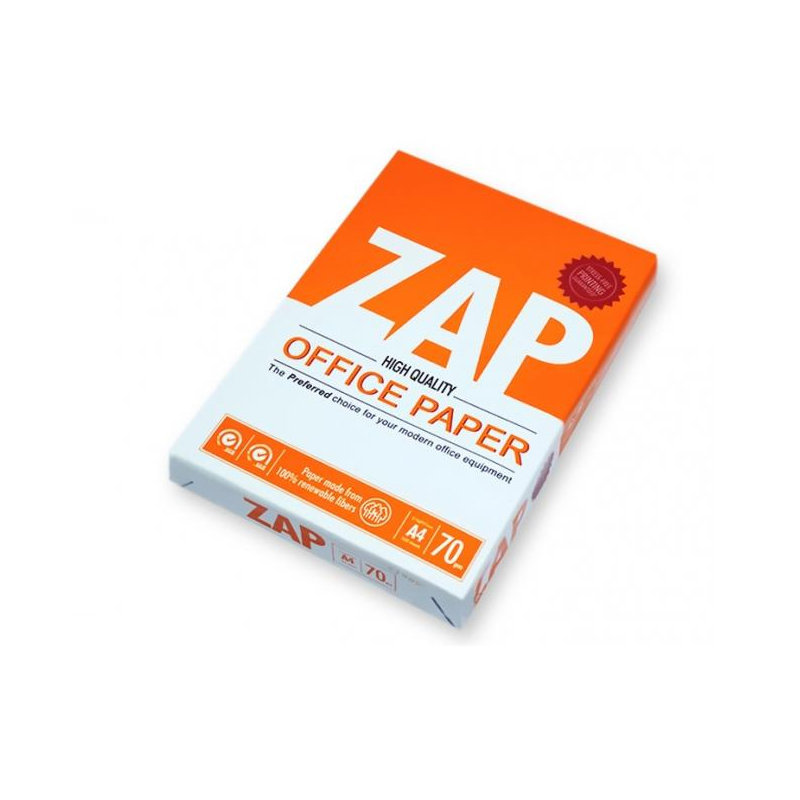 ZAP A4 Papers 70-GSM P50 AT