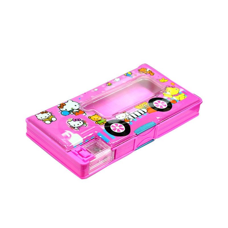 Chaseup Pencil Box B-9609 Pink