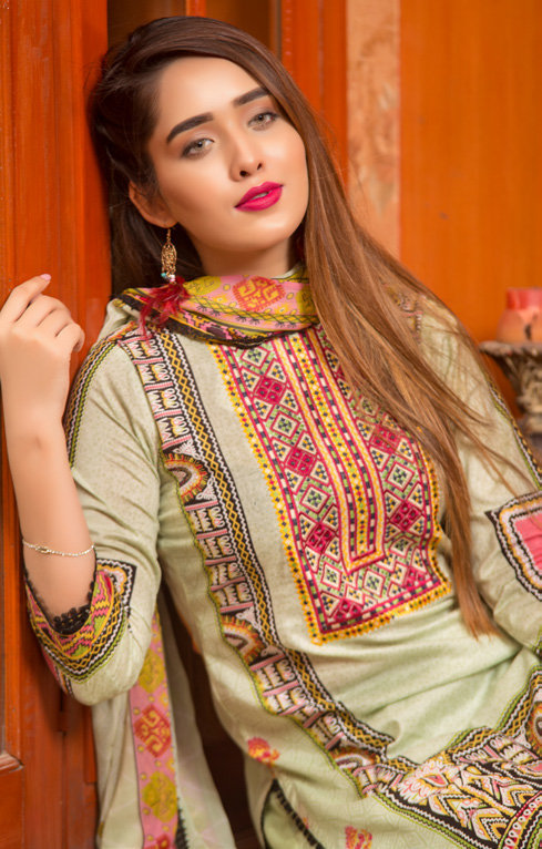 Ruqayyah Beautiful You Lawn Designer Suit 2B