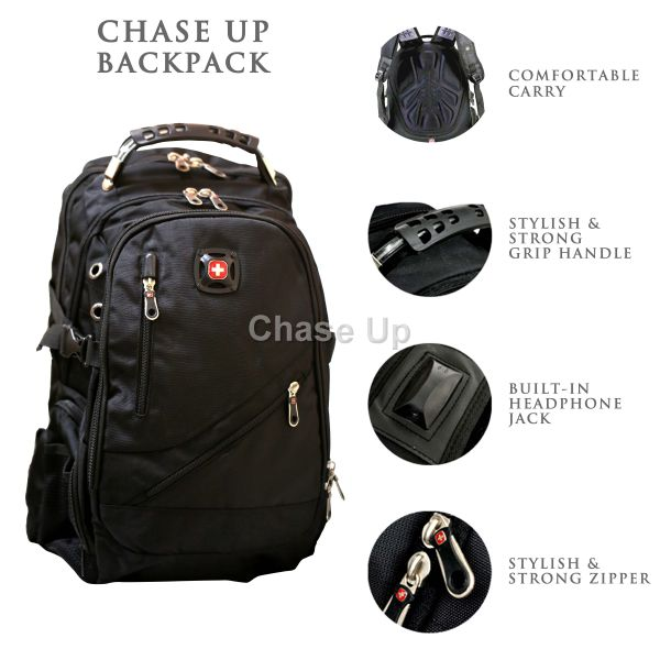 Gents Backpack 8815 TI-004 Imp (Black)
