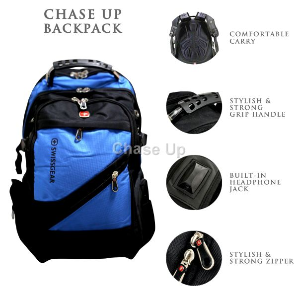 Gents Backpack 8810 TI-006 Imp (Blue)