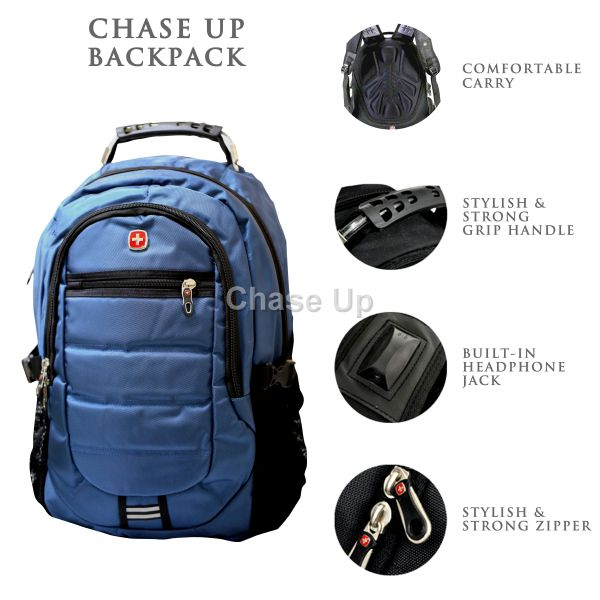 Gents Backpack 8613 TI-007 Imp (Blue)