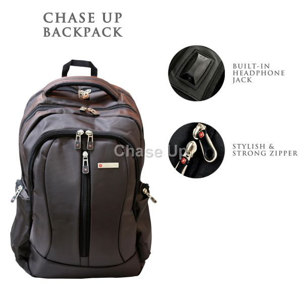 Gents Backpack 8616 TI-014 Imp (Coffee)