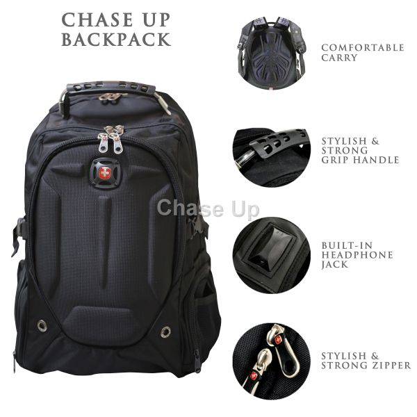 Gents Backpack 6611 TI-020 Imp (Black)