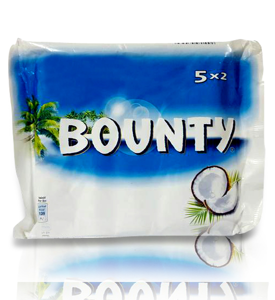 Bounty Chocolate 285gm 5pcs