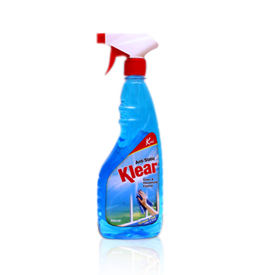 King Klear Glass Cleaner Bottle 500ml