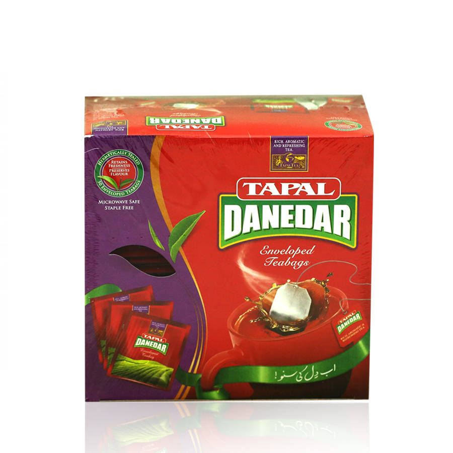 Tapal Danedar Tea Enveloped T/B 100gm 50pcs