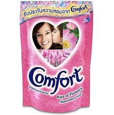 Comfort Kiss Of Flower Fabric Softner 580ml
