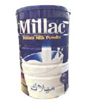 Millac Powder Milk Tin 2.5kg