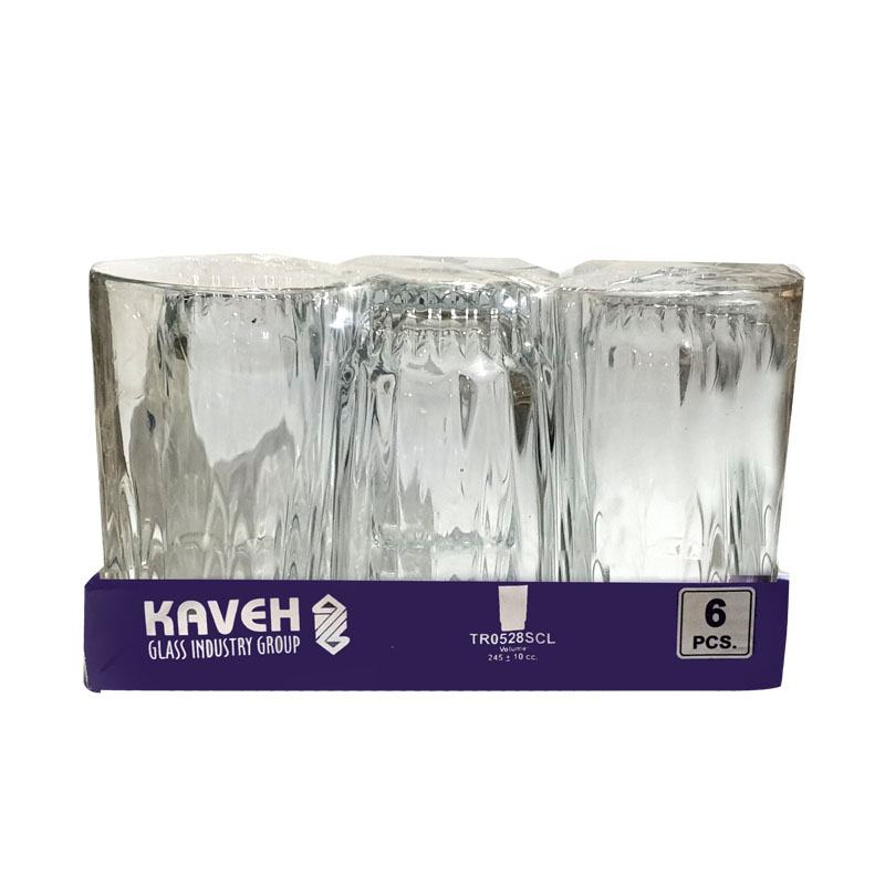 Kaveh Glass Set 6pcs 528