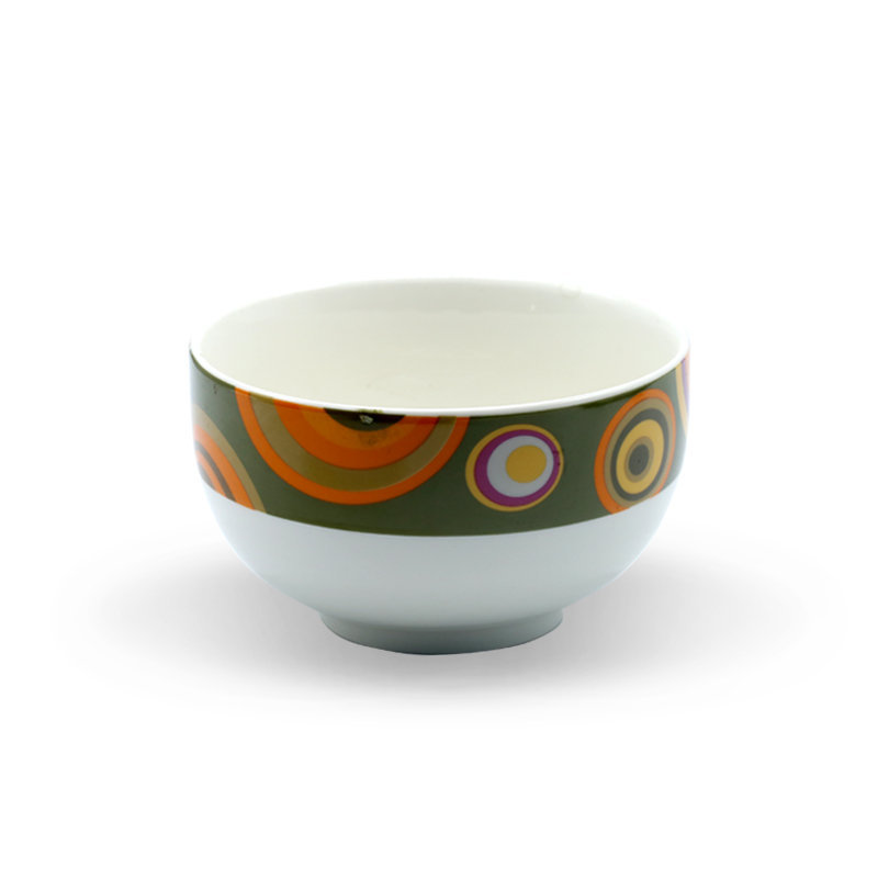 Tianxin Ceramic Bowl P-149 Round Green