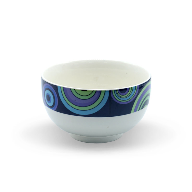 Tianxin Ceramic Bowl P-149 Round Blue