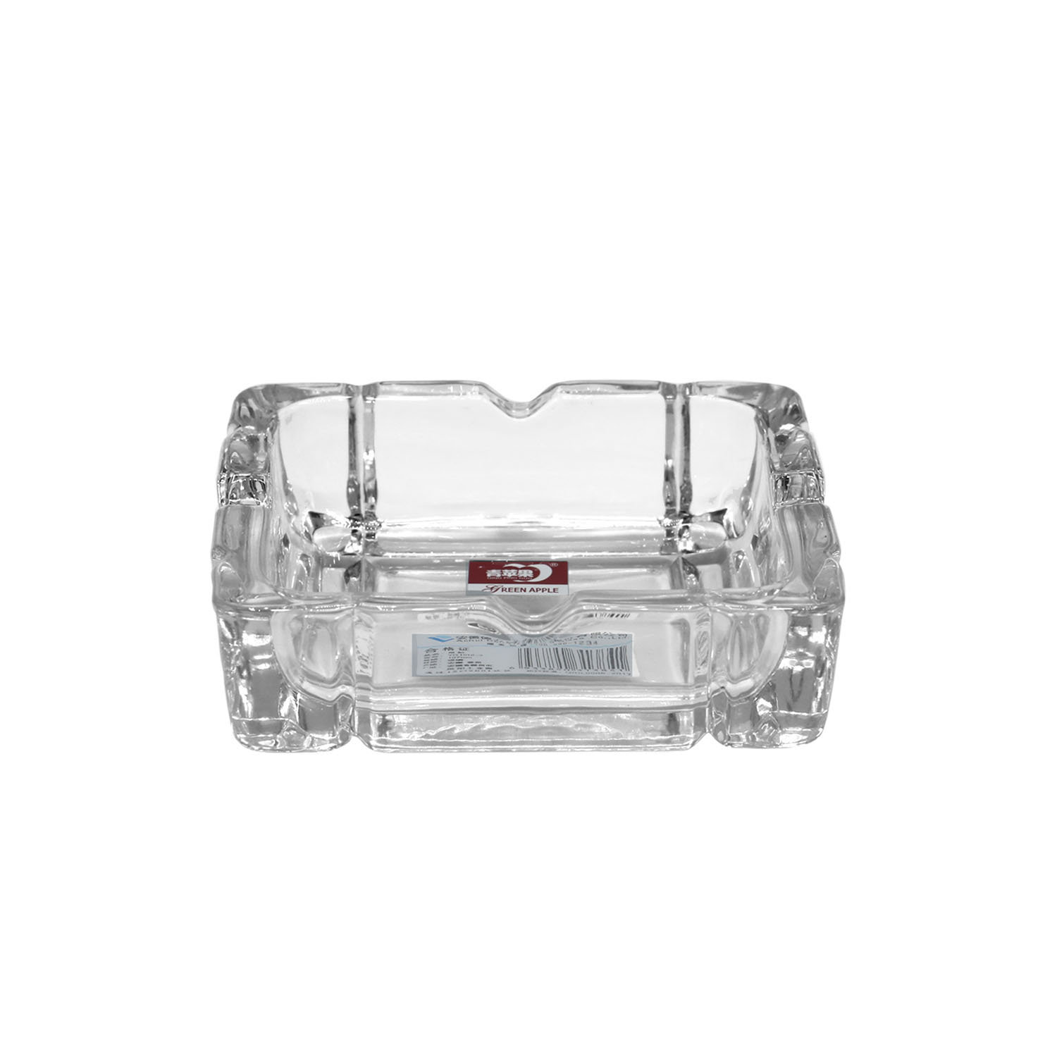 Deli Crystal Ashtray YG-1016-4 Ch Sky Age