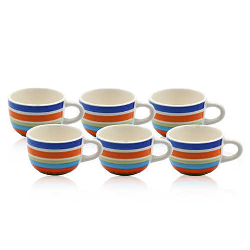 Chase Ceramic Mug Set 6pcs P-435 Ch