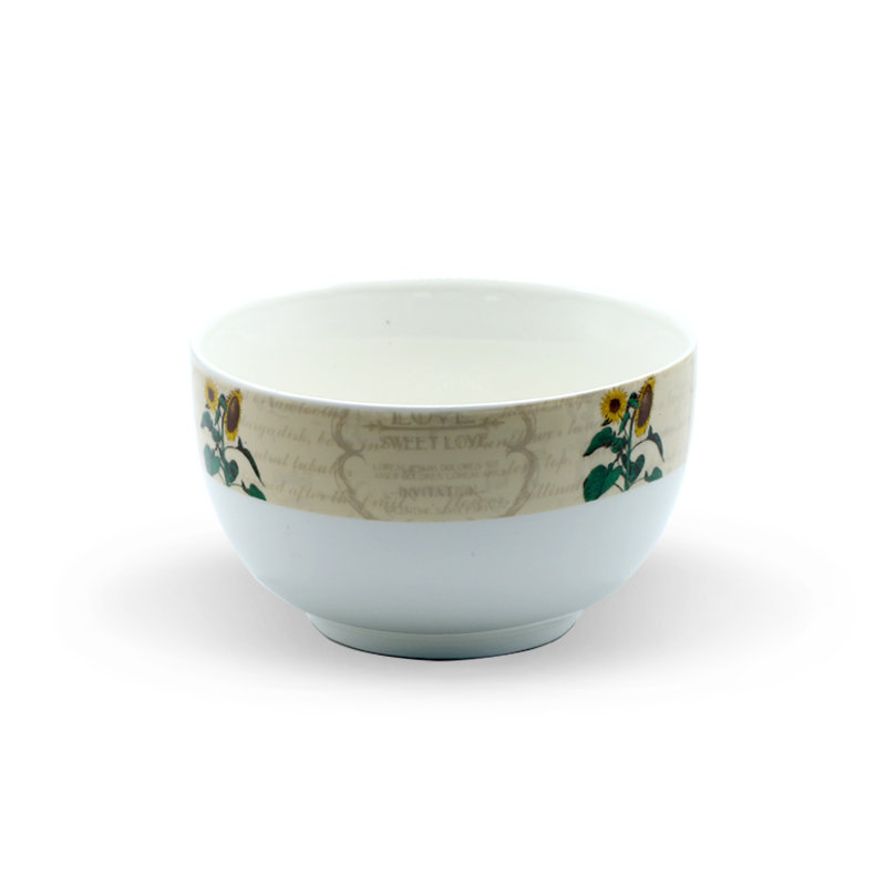 Tianxin Ceramic Bowl P-149 Sun Flower