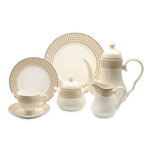 Chase Bone China Tea Set 24pcs GZ-002 Ch