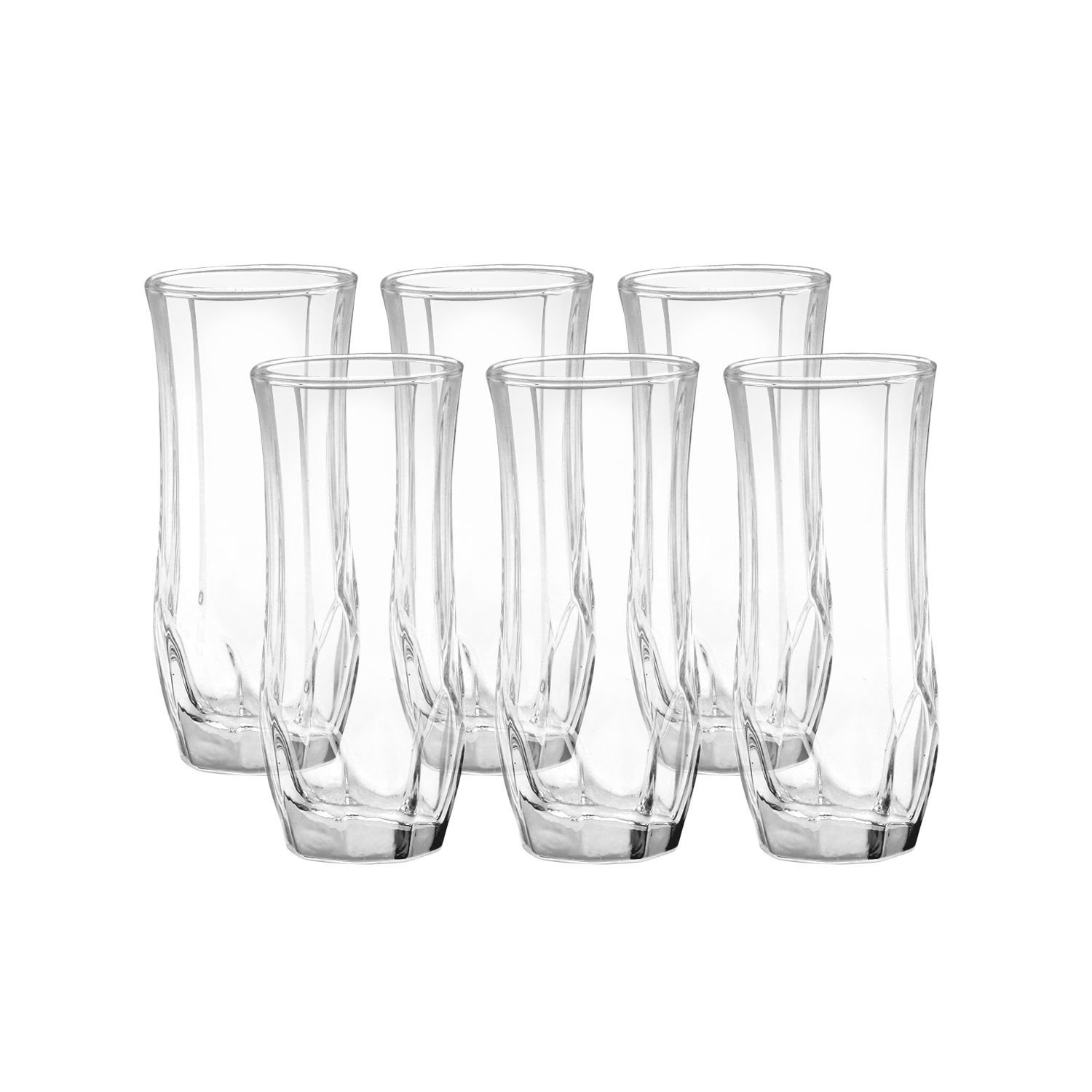 Home Pride Crystal Glass Set 6pcs A