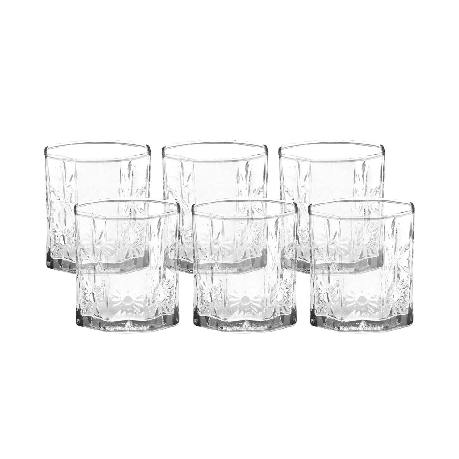 Home Pride Crystal Glass Set 6pcs D