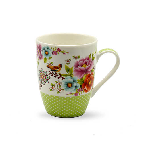 Tianxin Bone China Printed Mug P-125 Ch