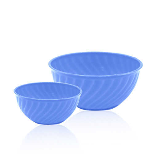 Novel Plastic Fruit Bowl 2pcs P-99 B