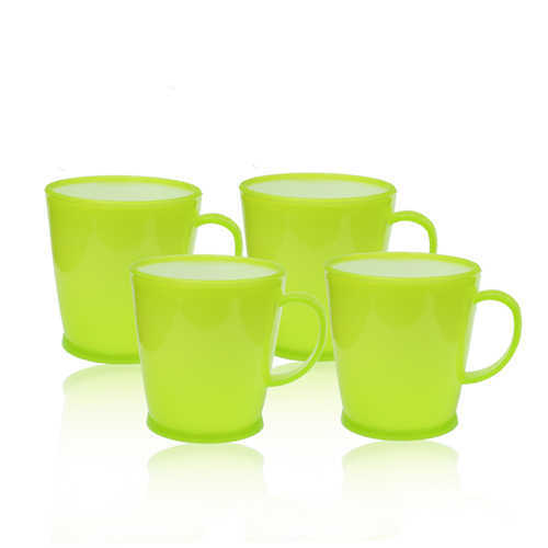 Novel Plastic Tea Cup 4pcs P-99 B