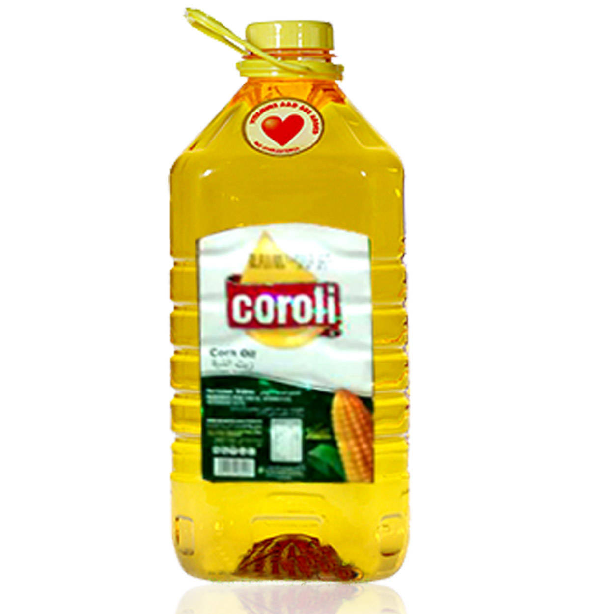 Coroli Corn Cooking Oil Bottle 5ltr