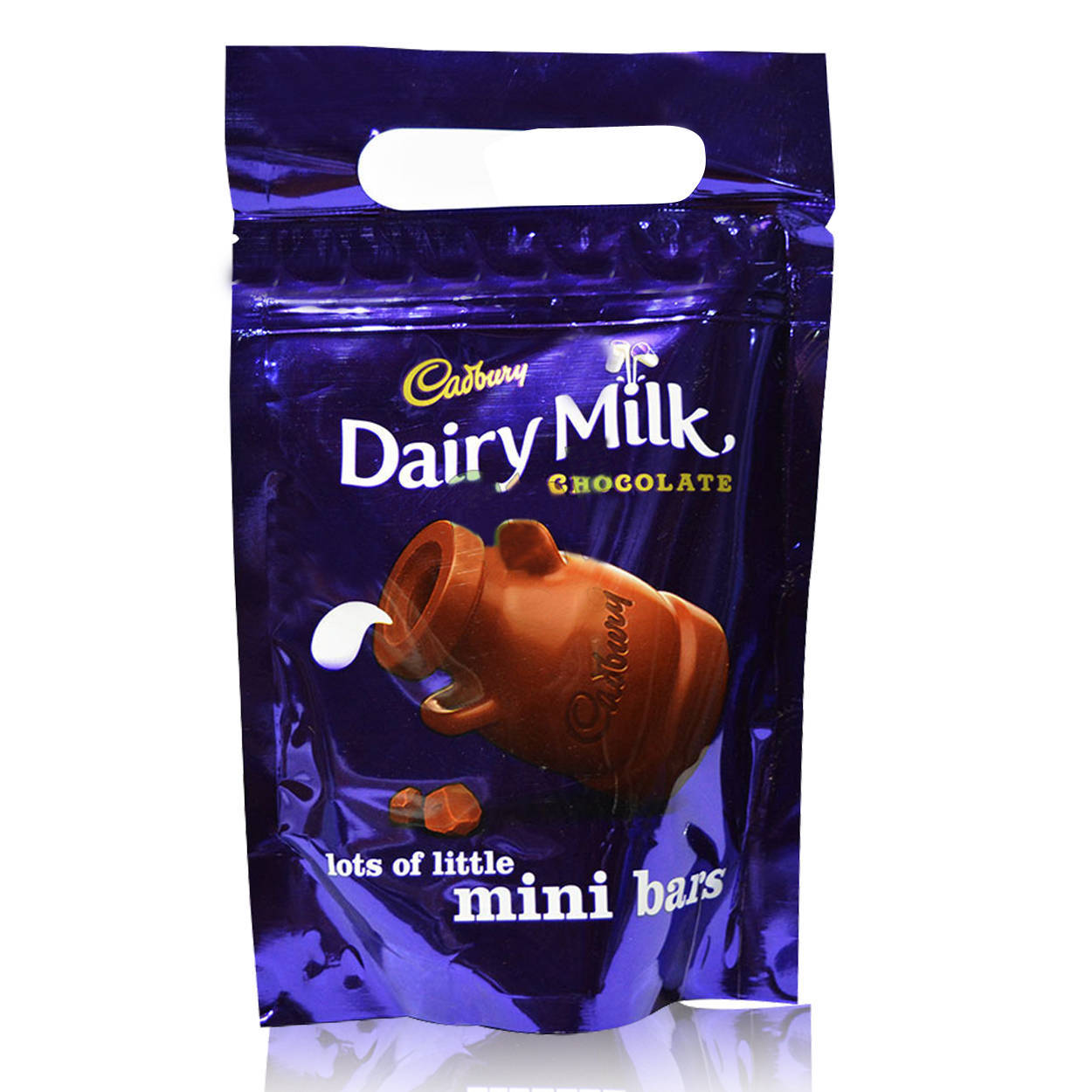 Cadbury Dairy Milk Miniature Chocolate Pouch 160gm