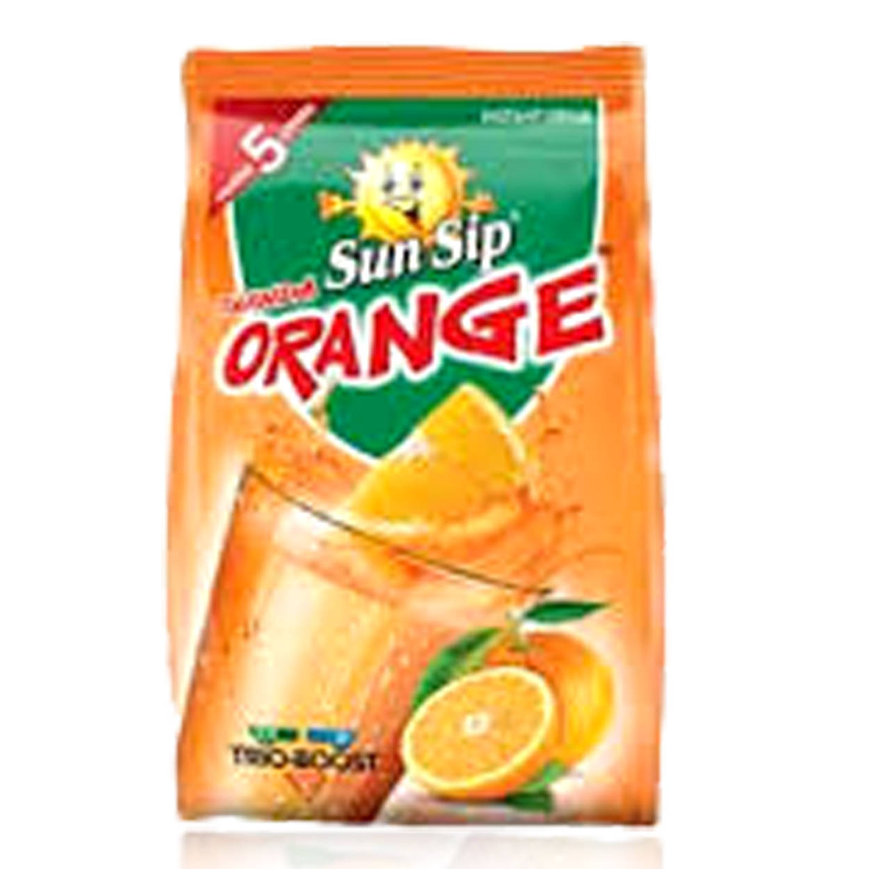 SunSip Thanda Orange Powder Drink Pouch 340gm