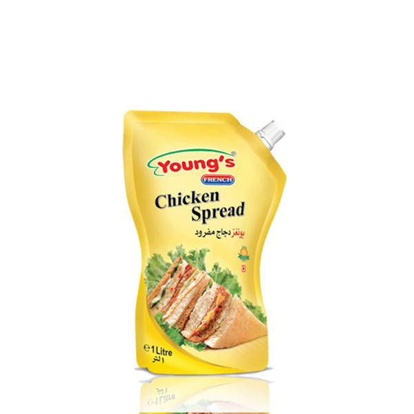 Youngs French Chicken Spread Pouch 200ml